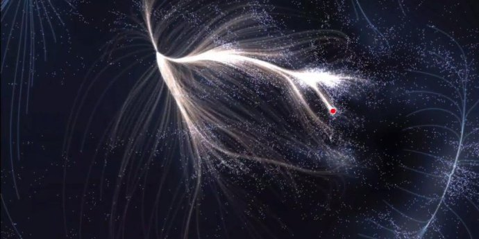 Our big body, our heavenly home ~ Laniakea. http://en.wikipedia.org/wiki/Laniakea_Supercluster